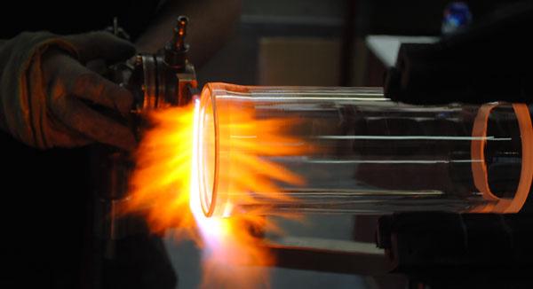 Façonnage des éléments verre