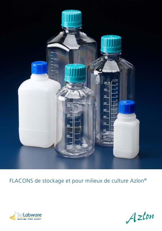 Gamme Flacon Azlon scilabware