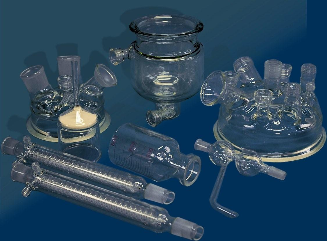 Manufacturer of research application glassware