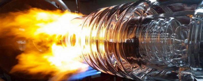conception de condenseur en verre