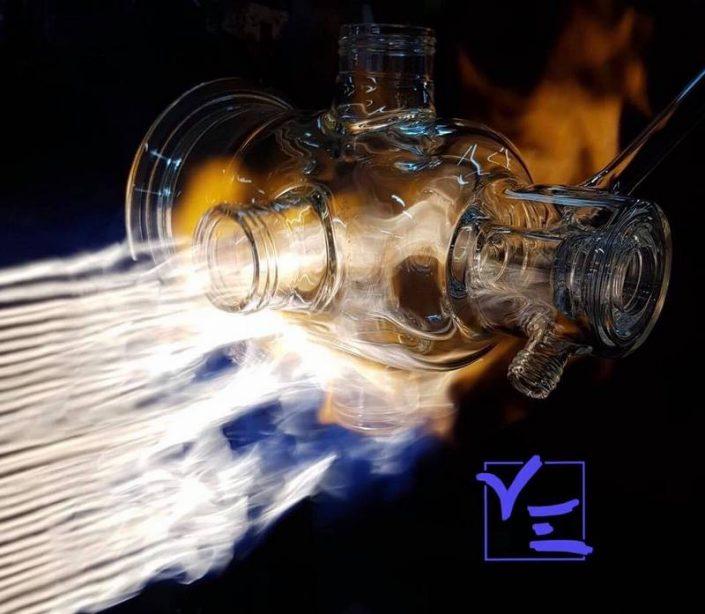 réacteur, verrerie thermostaté en borosilicate