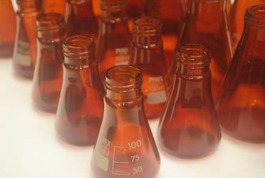 erlen inactinque borosilicate verre ambree uv verre equipements
