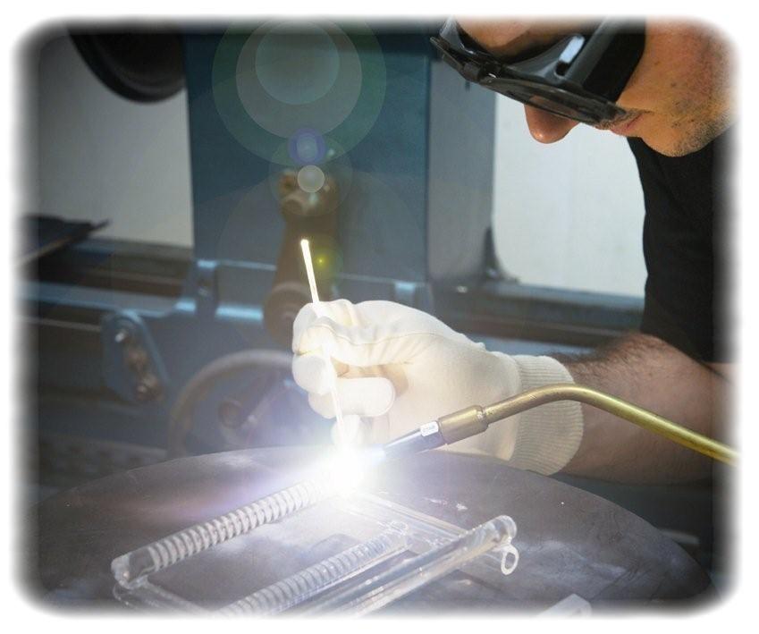 verre equipements soufflage de verre quartz