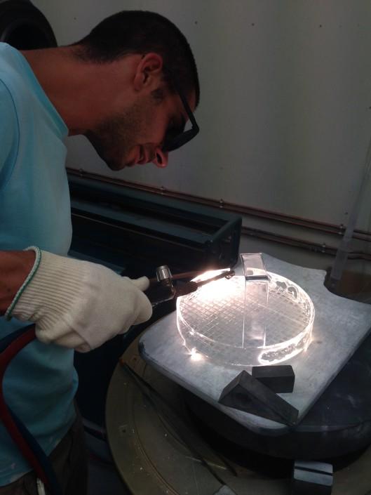 nacelle quartz verre equipements soufflage de verre