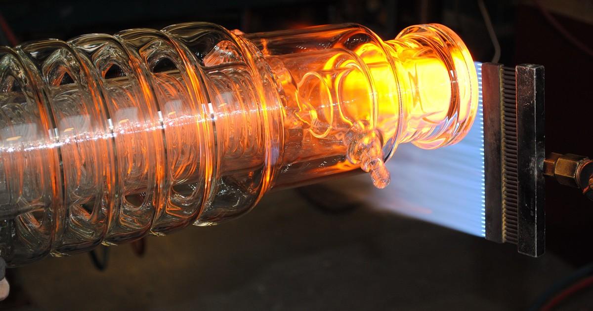Soufflage verre Pyrex et Quartz
