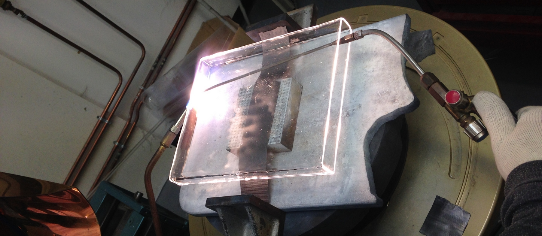 Soufflage verre quartz, fabricant verrerie