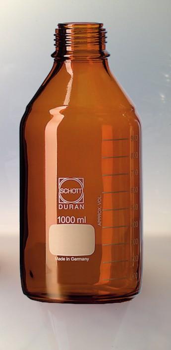 flacon inactinique verre equipements soufflage de verre