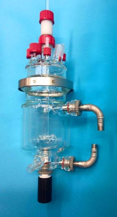 reacteur thermostaté montage complet verre equipements