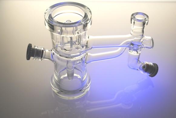 Tête de colonne verre