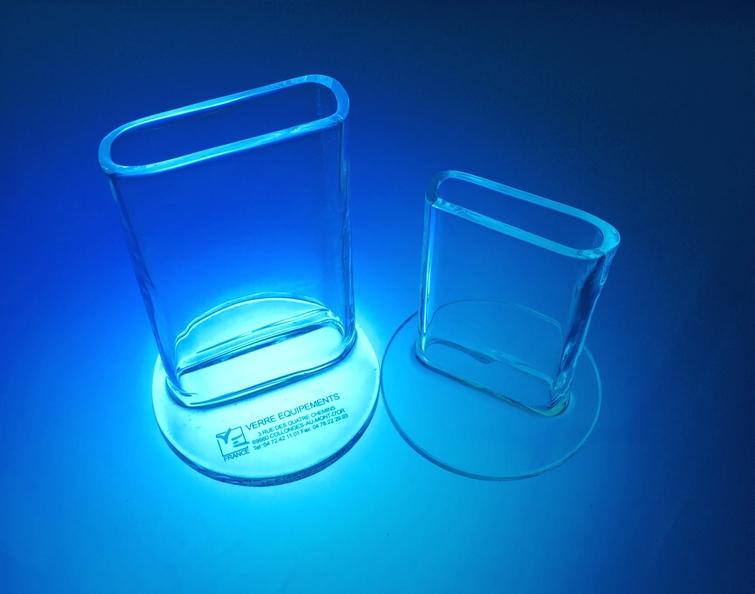 Cuve chromatographique verre equipements soufflage de verre laboratoire borosilicate