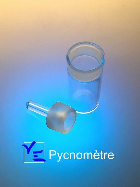 Pycnomètre borosilicate, fabricant pycnomètre