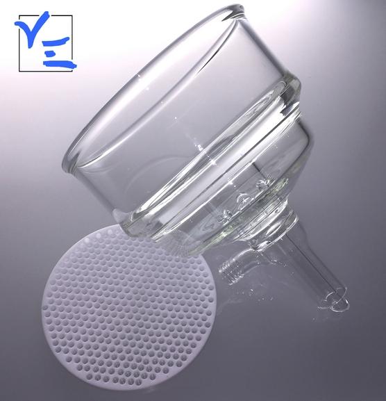 Filtre en verre, fabricant filtre verre teflon, borosilicate
