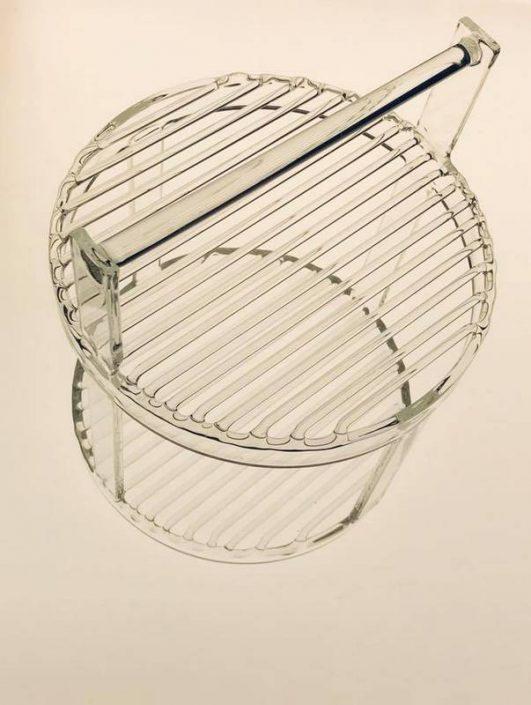 verrerie de laboratoire, porte-échantillon borosilicate