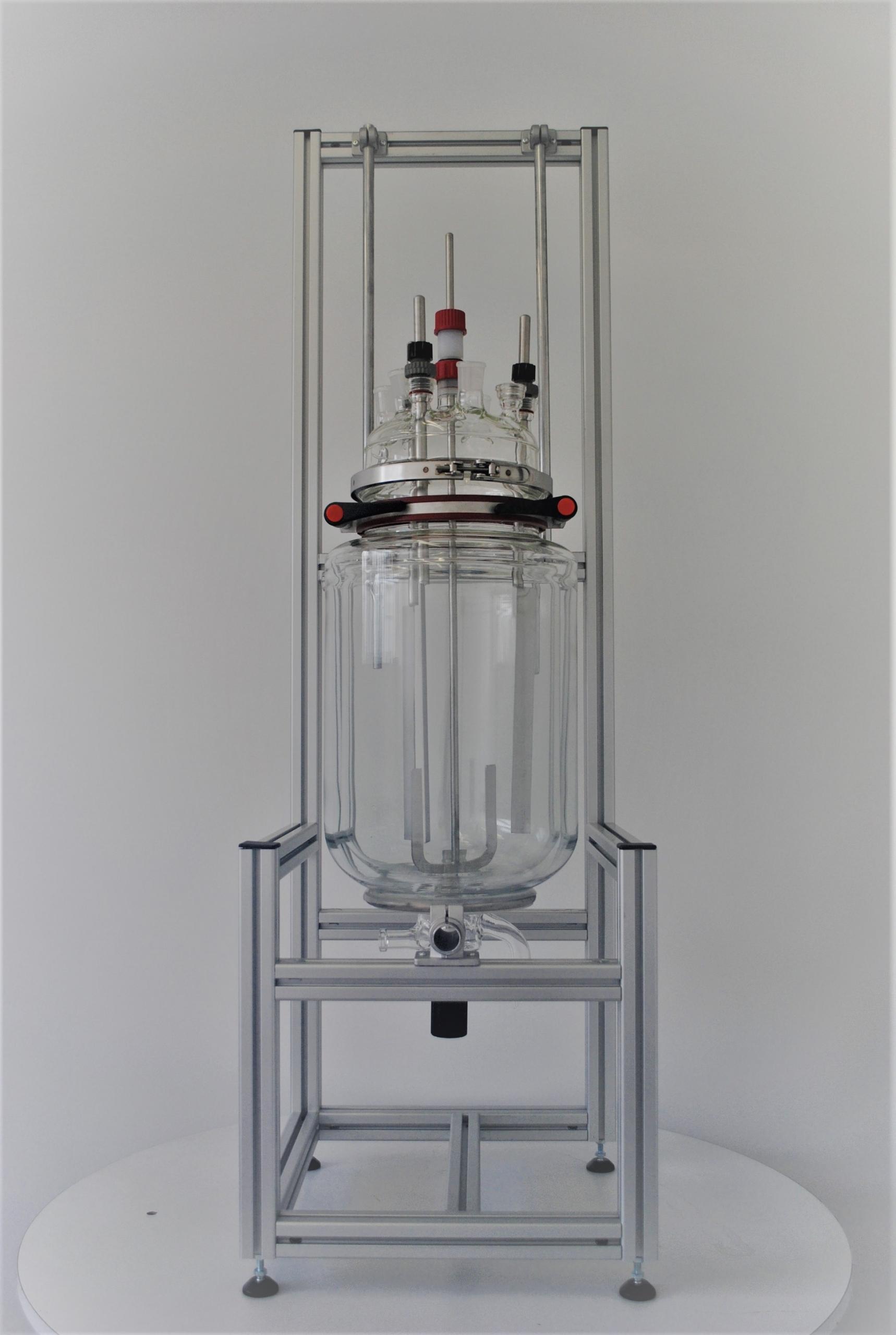 location réacteur pilote en verre