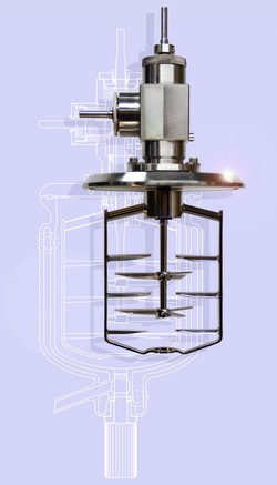 Manufacturer of baffles and stirrer guides for mixing glassware systems