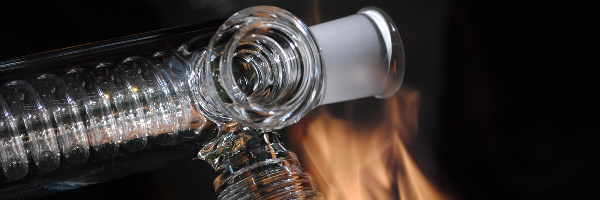 refrigerant serpentin verre equipements soufflage de verre