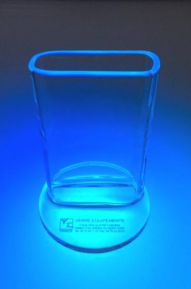 Cuve chromatographique verre